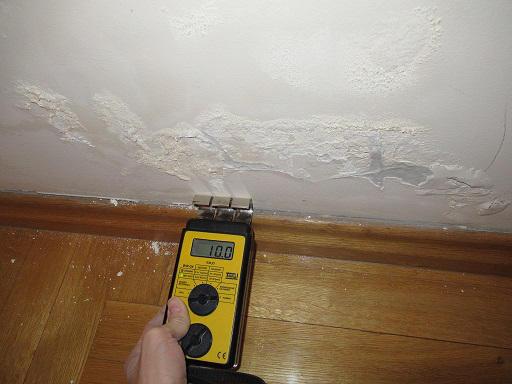 Mokre ściany - wilgoć na ścianie przy podłodze
