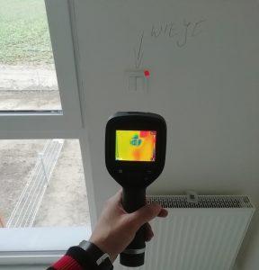 odbior mieszkania kamera termowizyjna poznan