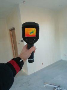 odbior mieszkania koscian termowizja