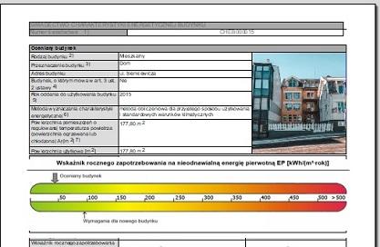 swiadectwa charakterystyki energetycznej poznan