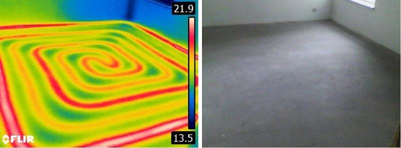 badanie termowizyjne latem - badanie ogrzewania podlogowego