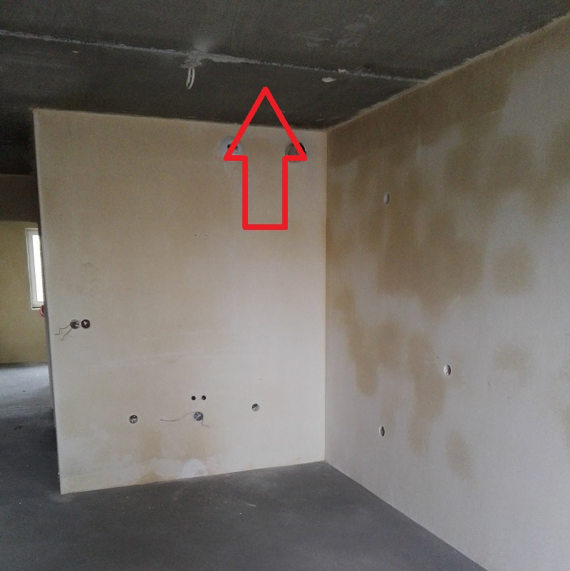 standard deweloperski wykonczenie mieszkania deweloperskiego koszty - sufity