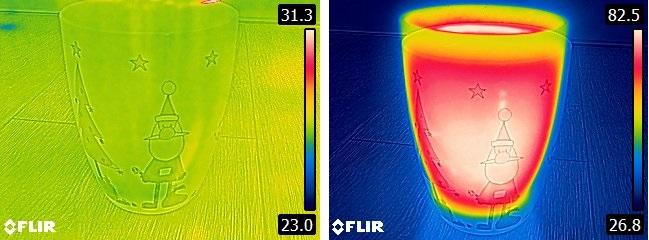 kamera termowizyjna co pokazuje kolory