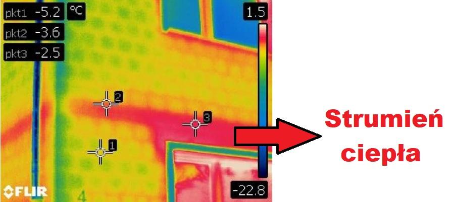 jak sprawdzic straty ciepla termowizja